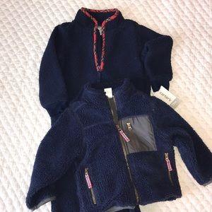 Carter's Fleece Bunting Suit & Jacket Baby Boy